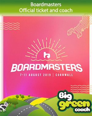 Boardmasters  Coach travel, bus travel and festival tickets