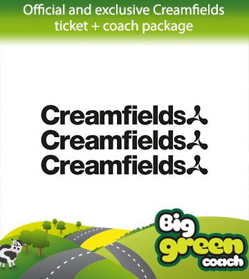Creamfields Coach  Coach travel to Creamfields Festival