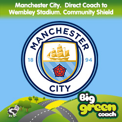 Manchester to Wembley Coach